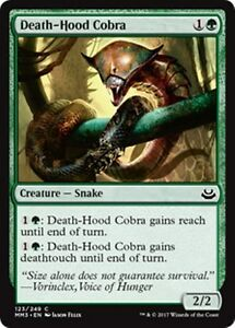 DEATH-HOOD-COBRA-Modern-Masters-2017-MTG-Green-Creature-Snake-Com