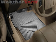 WeatherTech All-Weather Floor Mats - Ford Super Duty SuperCrew-1999-2007 - Grey