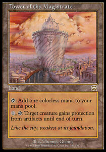 1x-Tower-of-the-Magistrate-Mercadian-Masques-MtG-Magic-Land-Rare-1-x1-MP