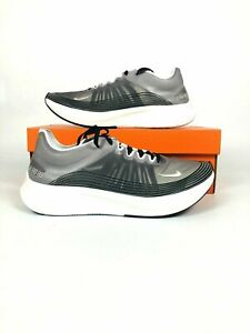 e9a9188bddc095 Nike Zoom Fly SP Men s Running Shoes Black Light Bone White AJ9282 ...