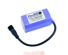 Panasonic LiIon Battery 7.4V 5800mAh for MagicShine LED Bike Light NCR 2S2P US