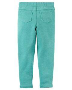 Bottoms Sincere Neuf Carter's Vert De Filles Jegging Paillette Pantalon Avec Étiquettes 4 5 6 7