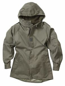 Vintage Issued French Military Parka   eBay
