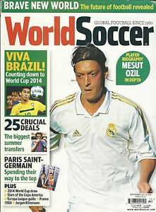 World-Soccer-Magazine-Mesut-Ozil-World-Cup-Paris-Saint-Germain-Summer-Transfers