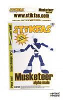 Stikfas Musketeer Alpha Male Figure Afk75r