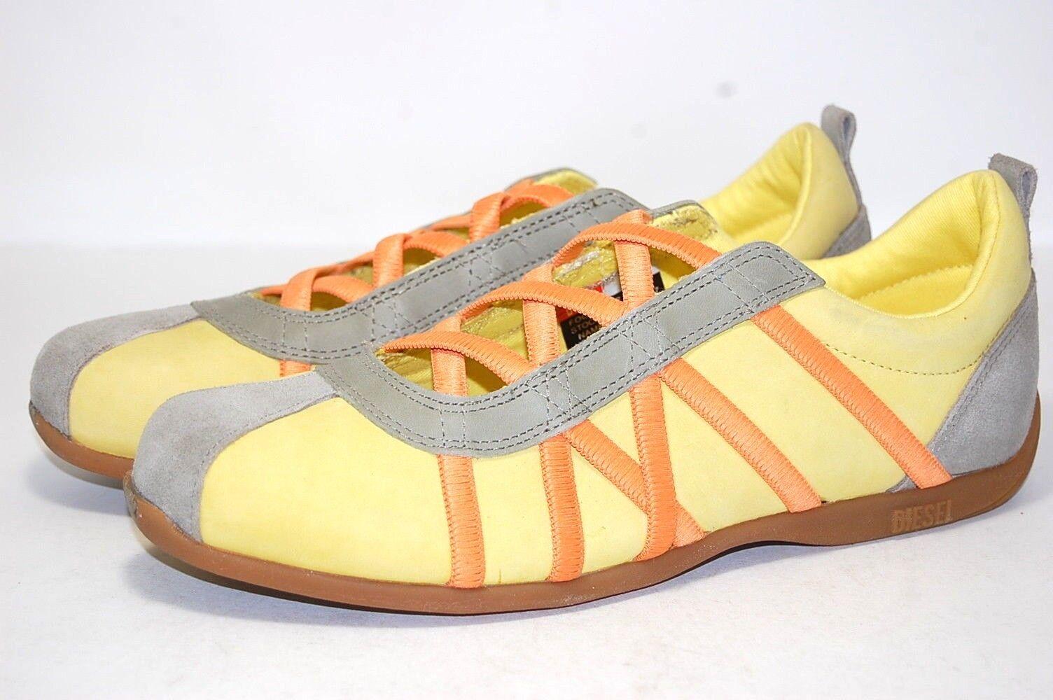 Diesel Valencia Pina/Plank 102100005067 Leder Casual Damens Schuhes