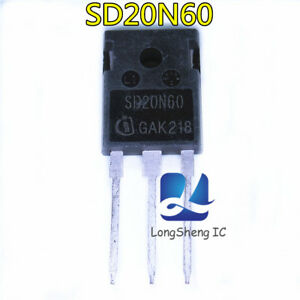 2-PCS-SD20N60-TO-3P-power-MOSFET-transistor-new