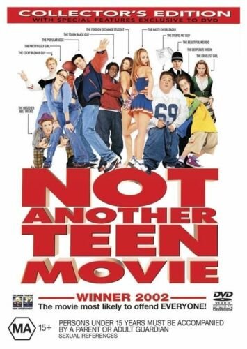1 of 1 - Not Another Teen Movie (DVD, 2002) Collector's Edition New PAL