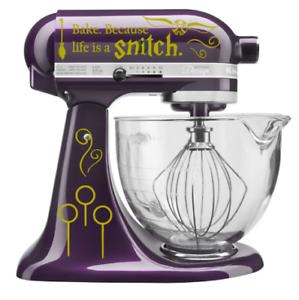 Details About Golden Snitch Harry Potter Quidditch Kitchenaid Mixer Decal Sticker Hogwarts