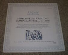 Prima Missa In Nativitate Domini Nostri Jesu Christi~Christmas Mass~German~NM LP
