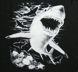 106 Great Jaws Man Shark Eater Sweatshirt White xPrPSqwY