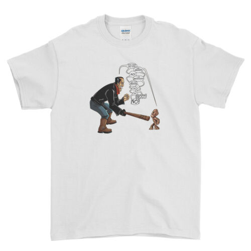 Walking Dead Men T Shirt Top Tee The Walking Dead Negan vs Groot