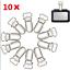 10-20Pcs-10mm-Suspender-Buckle-Soother-Pacifier-Clips-Metal-Hook-Pacifier-Insert miniature 1