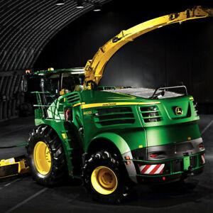 John-Deere-8600i-Series-Forage-Harvester-Argiculture-Wall-Poster-Brochure-Art-A3