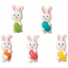 Bunny with Jellybean Royal Icing Decorations 12 ct from Wilton #1159 - NEW