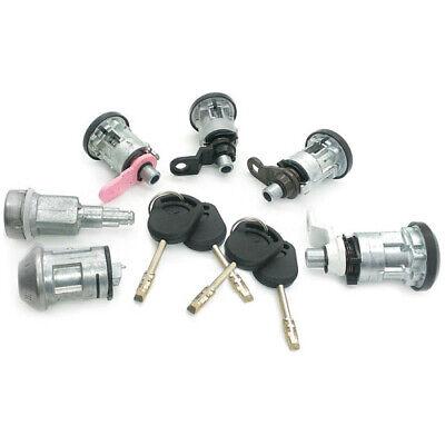 2006-2013 4 clés Portes capot allumage FITS FORD Transit Complet 5 Lock Set