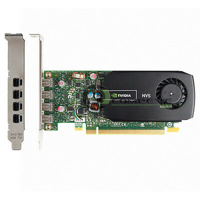 DELL NIVIDIA NVS 510 2GB DDR3 Video Graphics Card 61P37 SEALED