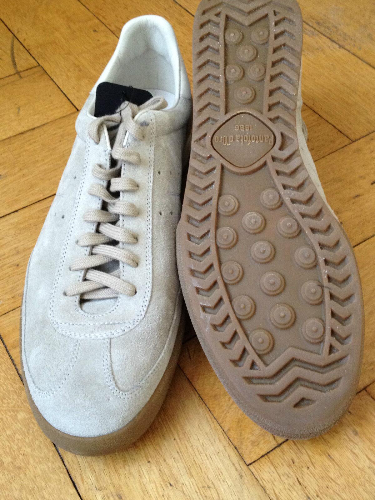 Pantofola D 'oro Scarpe Da Da Da Ginnastica scarpe da ginnastica Pelle Velour Beige EUR 45 US 11.5 86a225