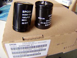 3 volle Kartons 180 St. radiale Elkos 1000uF/300V, 105°, Epcos - 88400 Biberach, Deutschland - 3 volle Kartons 180 St. radiale Elkos 1000uF/300V, 105°, Epcos - 88400 Biberach, Deutschland
