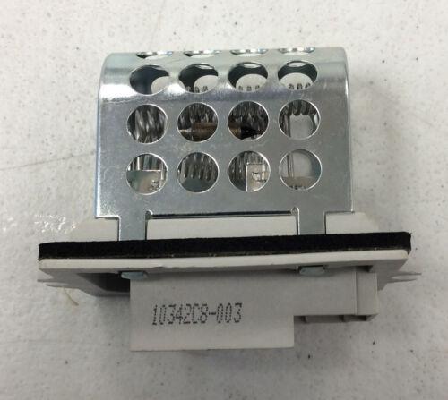 Standard RU97 NEW HVAC Blower Motor Resistor BMW 535i,CHRYLER,GMC,LINCOLN 85-97