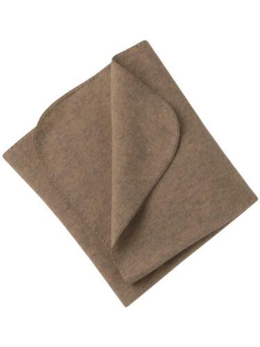 Engel Natur Baby Fleece-Decke//Kuscheldecke klein//Schmusedecke Fleece Bio-Wolle