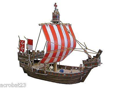 Ship HANSE KOGG War Games Terrain Landscape Scenery Middle Ages 25-28 mm