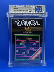 TURMOIL --  WATA 8.0 -  ATARI 2600 - SEALED , CERTIFIED , BRAND NEW - FREE SHIP