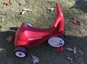 0751fd34c3a Radio Flyer Folding Trike, Red Tricycle, Kids Bike, Toddler Ride ...