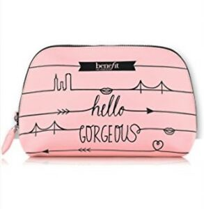 Image Is Loading Benefit Cosmetics O Gorgeous Pink Makeup Dome Travel