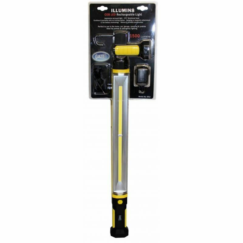 Clulite Illumin8 Inspection Work light Rechargeable Magnetic COB LED 1500 Lumen