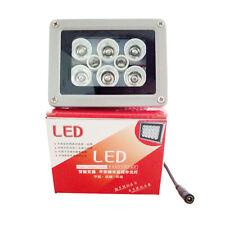 Illuminator DC 2A Night Vision infrared 8 LED IR Lights for CCTV Security Camera