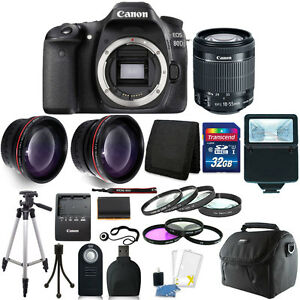 Canon-EOS-80D-24-2MP-Digital-SLR-Camera-with-18-55mm-Lens-16GB-Top-Kit