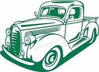Ford 1939 Pickup Truck Vinyl Decal Your Color Choice Sticker