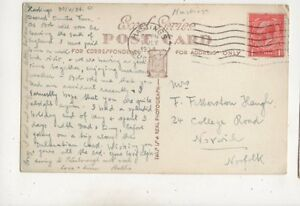 Mrs F Fetherston Haugh College Road Norwich 1934 655b - Aberystwyth, United Kingdom - Mrs F Fetherston Haugh College Road Norwich 1934 655b - Aberystwyth, United Kingdom