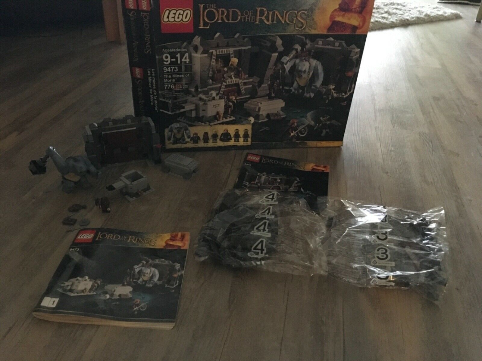 LEGO Lord of the Rings The Mines of Moria (9473)