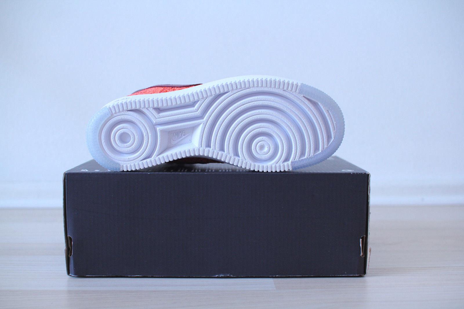 Nike Air Force 1 Ultra Flyknit Mid 36,5 WMNS Orange Weiß Gr. 36,5 Mid UK 3,5 NEU & OVP dfbb83