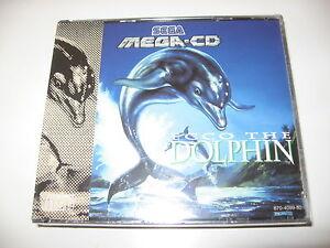 ECCO THE DOLPHIN BRAND NEW SEALED Sega MegaCD PAL Mega CD RARE - Italia - ECCO THE DOLPHIN BRAND NEW SEALED Sega MegaCD PAL Mega CD RARE - Italia
