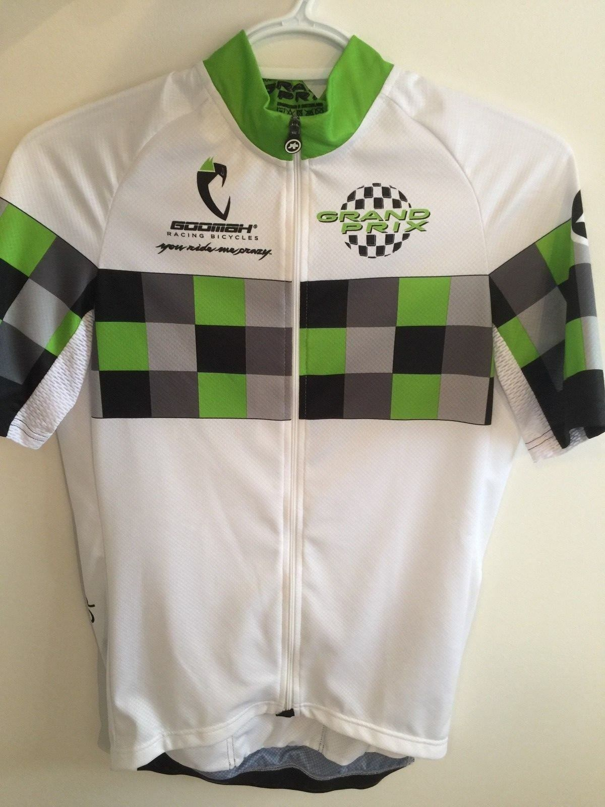 New ASSOS SS.GRANDPRIXJERSEY_EVO8 Cycling Cycling SS.GRANDPRIXJERSEY_EVO8 Jersey Größe Medium e7fd6e