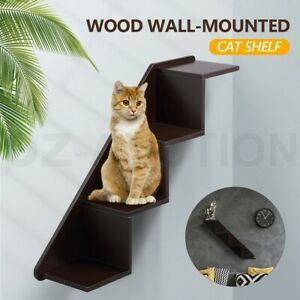 Petscene-Pet-Cat-Stairs-Wall-Shelves-Perch-Cat-Furniture-for-Climbing-Jumping