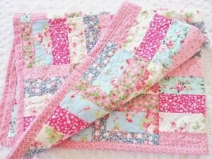 Details about Patchwork Quilting Kit Moda Jelly Roll Jam Quilt Fabric &  Wadding COMPLETE KIT !