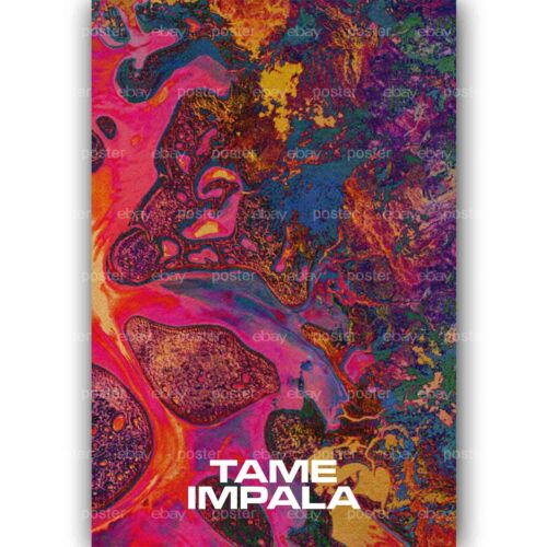 Tame Impala Custom Personalized Silk Poster Wall Decor