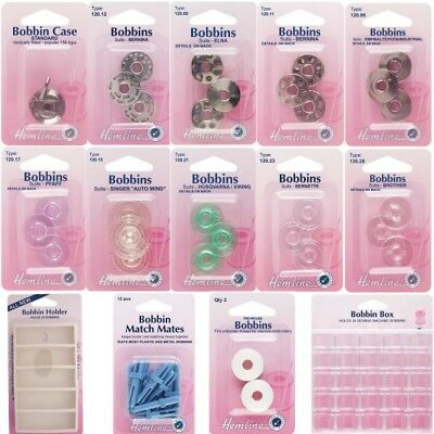 Hemline Plastic Bobbin Box