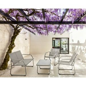 Salotto set da giardino rattan esterno divano arredo set for Poltrone da terrazzo