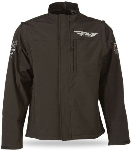 Motocross Dirtbike Offroad ATV Fly Racing Black Ops Convertible Riding Jacket