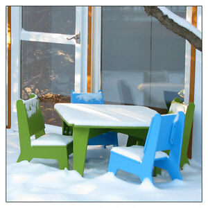 Not Neutral Bbo2 Outdoor Kids Chair Recycled Materials