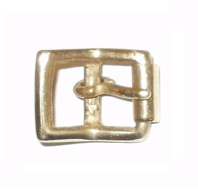 """Rodillo completa de latón sólido hebilla correa de cinturón de estilo militar 1//2/"""" 12MM"""
