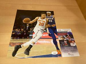 Kevin-Knox-New-York-Knicks-Autographed-Signed-8X10-Photo-JSA-COA
