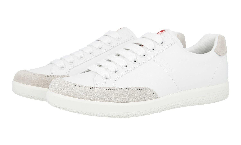 shoes PRADA LUXUEUX 4E3027 whiteHE NUBE NOUVEAUX 8 42 42,5