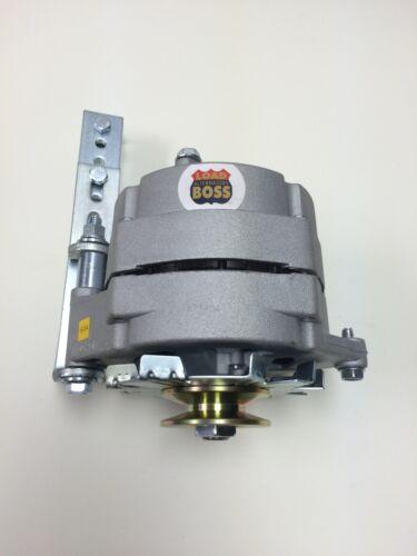 """Bracket Alternator One Wire 1 Wire 12 Volt Positive Ground 60 Amp 3//8/"""" Pulley"""