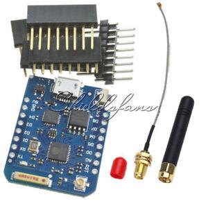 Details about D1 Mini Pro16M Bytes WEMOS External Antenna Connector ESP8266  CP2104 IPEX GPRS
